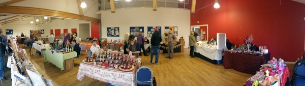 Leuchars Craft Market, Fife